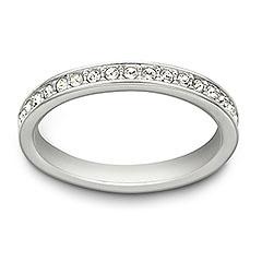 Very slim Swarovski ring for MOB gift, she's gunna love it!