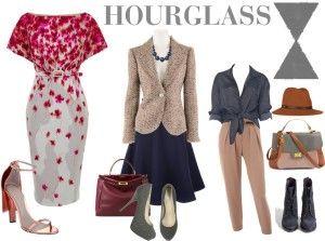 hourglass-body-type clothing