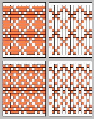 Many weaving ideas