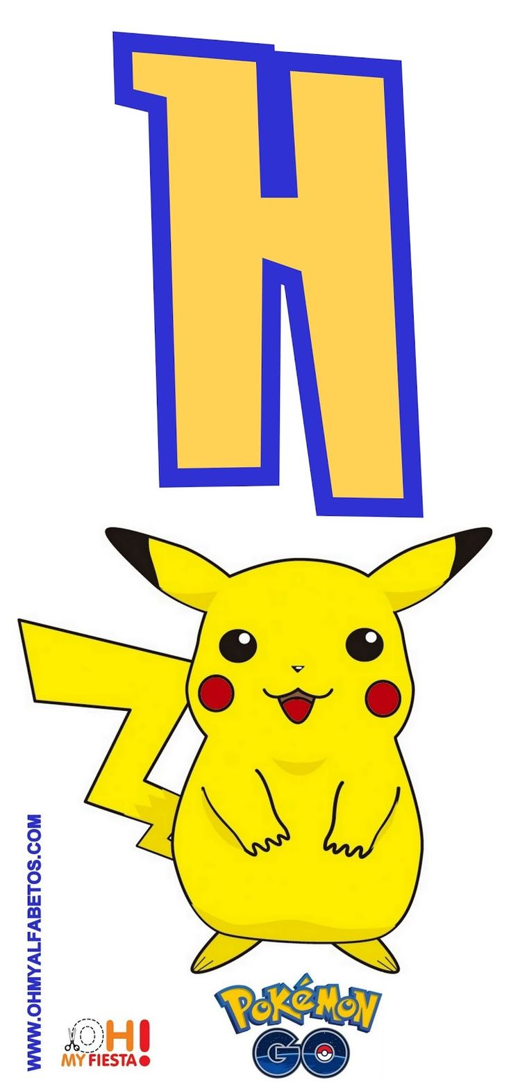pokemon-go-pikachu-alphabet-H.jpg (756×1600)