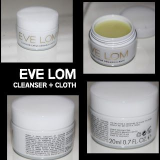 MichelaIsMyName: EVE LOM Cleanser + Cloth REVIEW