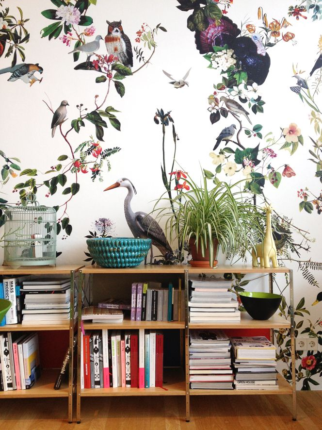 Flora and fauna on the walls (nursery)