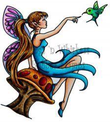 Wags 'n Whiskers - Fairy Iris