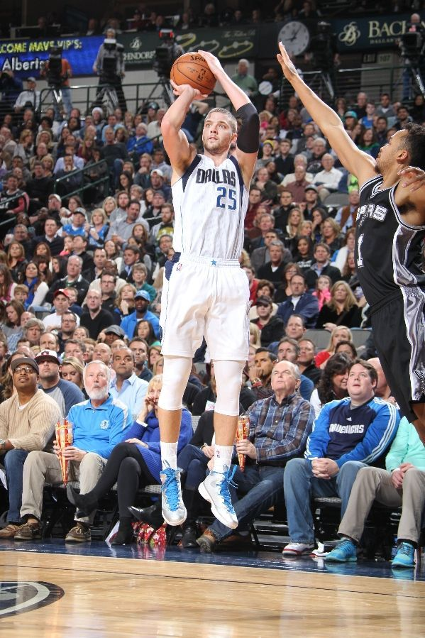 Chandler Parsons 2014 Mavericks