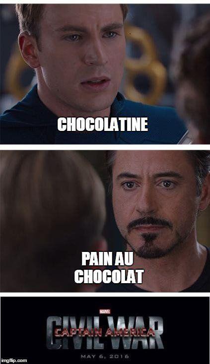 Team pain au chocolat ou chocolatine ?