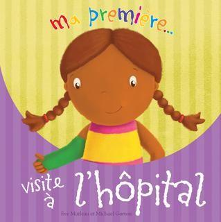 """3199700095727 Ma première visite à l'hôpital. Aisha s'est blessée au bras en jouant au disque volant (""""frisbee"""") avec son frère. Sa maman la conduit à l'hôpital, où un médecin très gentil lui passe des radiographies et lui fait un plâtre qui calme sa douleur."""