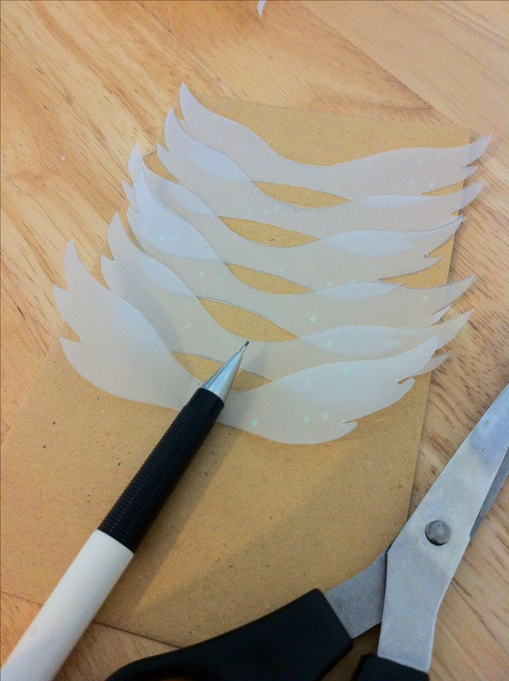 Make some Golden snitch wings to attach to Ferrero Rocher