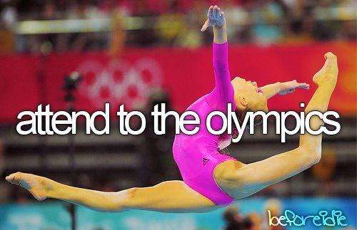 I would love to see Great Britain win a gold medal at the Olympics one day