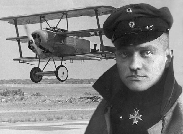Μάνφρεντ Φον Ριχτχόφεν (1892 – 1918)