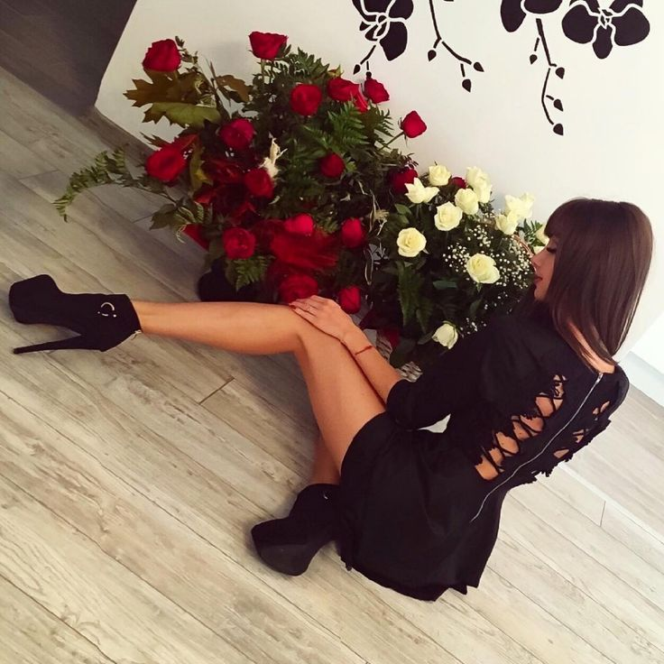 Gianna Black Dress