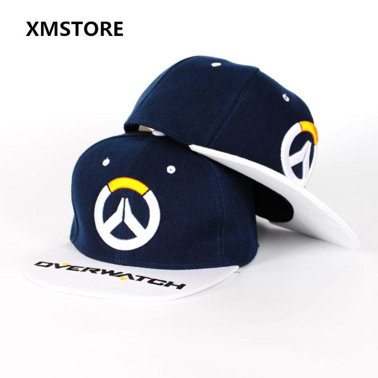 2017 New Online Game Watchman Pioneer Baseball Cap Hat Overwatch Snapback Hats Summer Adjustable Hip-hop Caps For Men Women w195