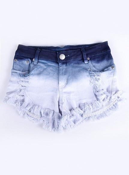 Short Jeans - TIE DYE