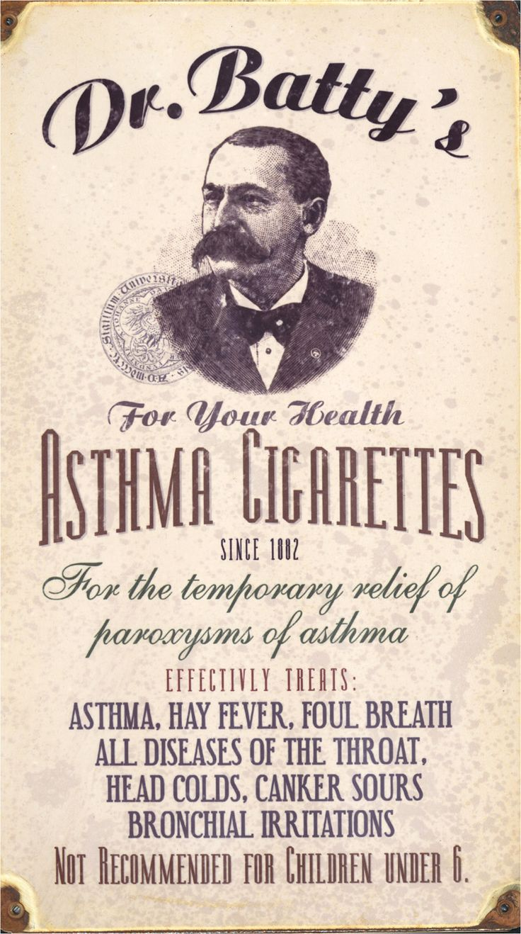 Asthma cigarettes, not for children under 6........ Dust Jackets, Vintage Wardrobe, Asthma Cigarettes, Old Ads, Funny Commercials, Vintage Ads,  Dust Covers, Book Jackets,  Dust Wrappers