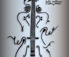 cello tattoo images