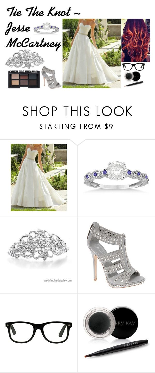 """Tie The Knot ~ Jesse McCartney"" by redheadmahomiemidnightredaustin ❤ liked on Polyvore featuring Allurez, Retrò, Mary Kay and NARS Cosmetics"