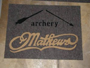 Archery Logo Inlaid Rug