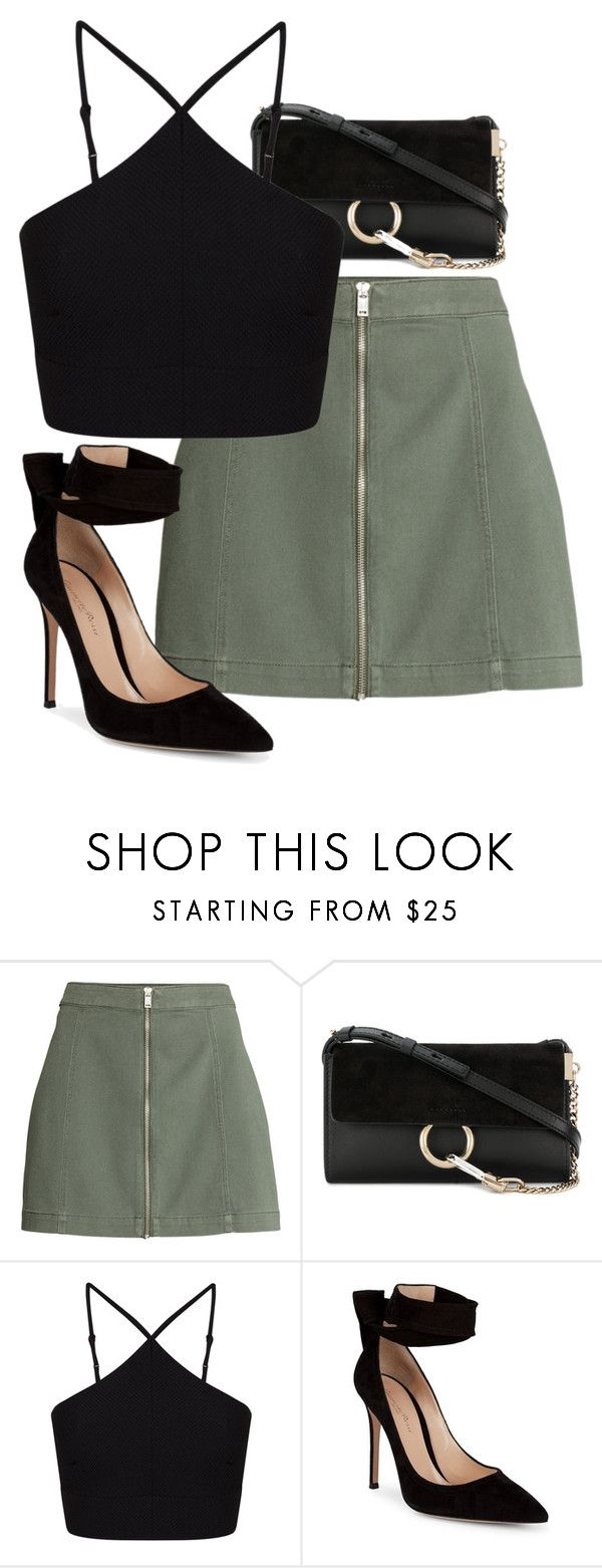 """Untitled #835"" by ayalikeschicken ❤ liked on Polyvore featuring Chloé, Miss Selfridge and Gianvito Rossi"