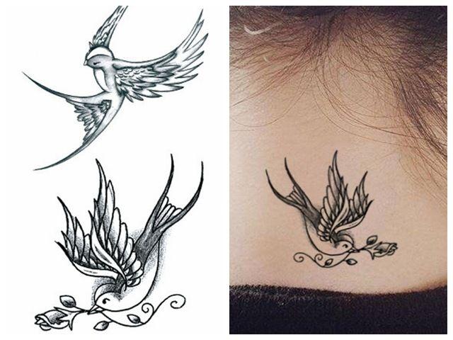 Znalezione Obrazy Dla Zapytania Jaskółka Tatuaż Tatuaż