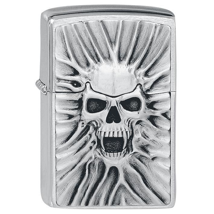 """#Zippo originale a benzina con logo 3D """"The Beast Within"""" del brand Spiral. Per motivi ti sicurezza, l'accendino viene consegnato scarico."""