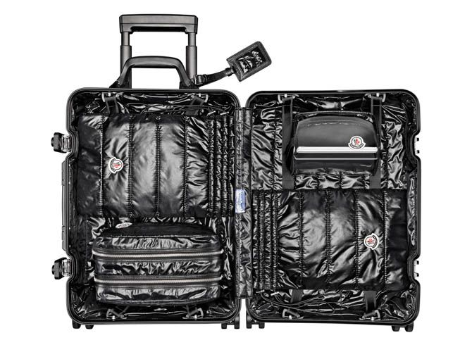Moncler lance une valise deluxe avec Rimowa | LE BLOG