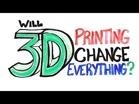 """Le développement de l'impression 3D suscite beaucoup de questions. Depuis 2 ans on voit de nombreuses expériences dans ce domaine, mais il est difficile de dire comment ce procédé va se démocratiser et agir sur notre quotidien.   Mitchelle Moffit et Gregory Brown, deux artistes canadiens du AsapSCIENCE font le point. Une petite vidéo intitulée """"Will 3D Printing Change Everything?"""""""