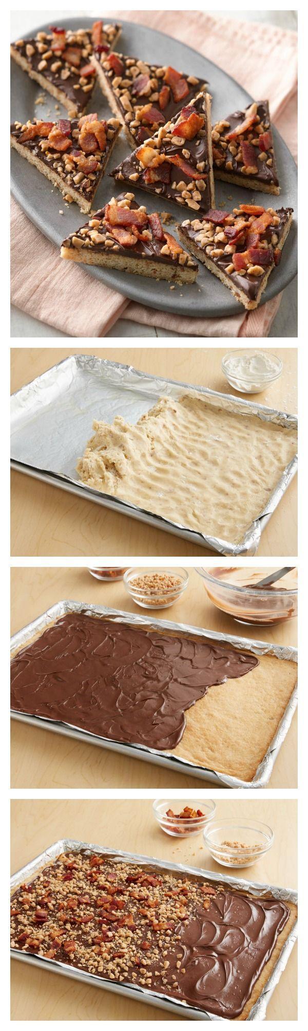 Maple Bacon Cookie Bark | Recipe | Maple Bacon, Bacon and Treats