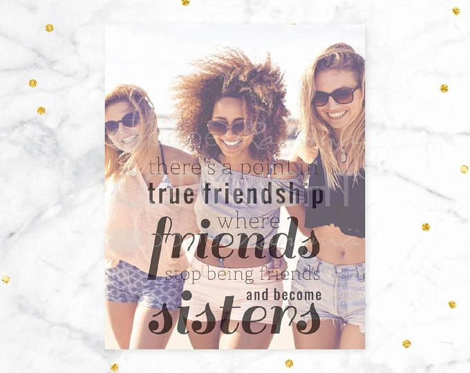 Best Friend Birthday Gift Ideas For The Who Has Everything This Sentimental Print Is Sure To Impress Your