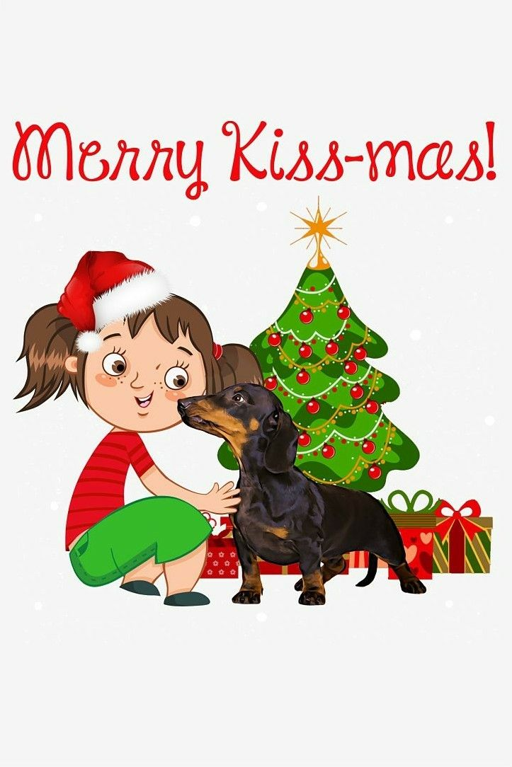 Christmas Dachshund Christmas Dachshund Love Weenie Dogs
