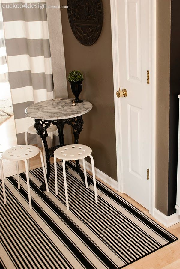 17 best images about black and white striped rug on Bold black and white striped curtains