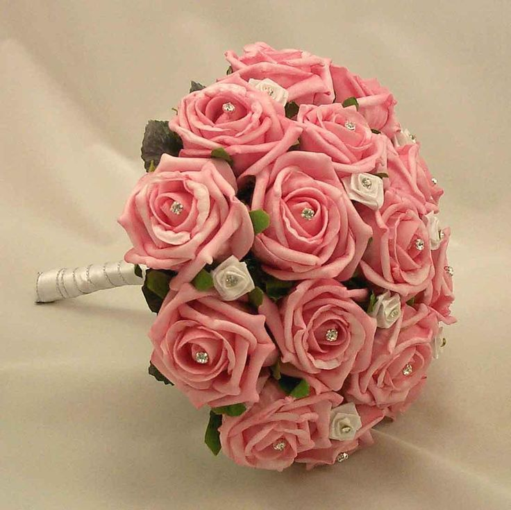 pink roses wedding bouquet 1000 images about flower bouquets on blue 6593