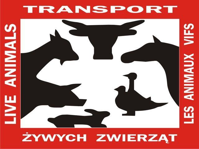 Oznaczenie to powinno być na każdym pojeździe przystosowanym do przewozu żywych zwierząt. Warunki przewozu żywych zwierząt określają przepisy...