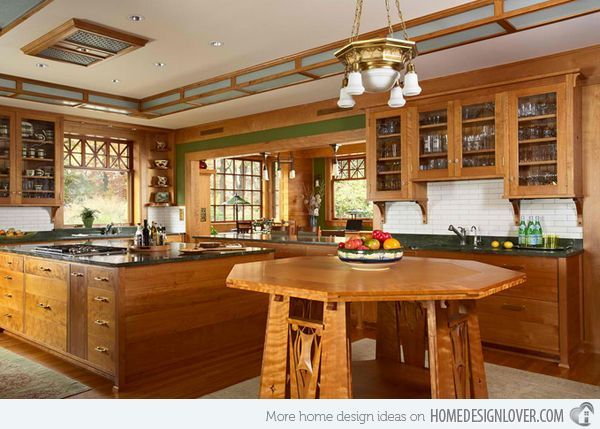 1000 ideas about corner kitchen tables on pinterest - Arts and crafts kitchen design ideas ...