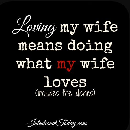 Loving my wife means doing what my wife loves..and that includes the dishes. A few lessons from a husband learning the ropes of Godly Husband-hood. Click to read.