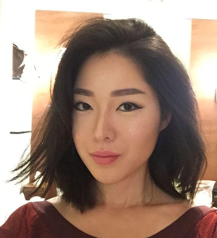 Hair style asian contemporary