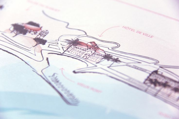 Map of Cannes | designed by Allons-y Alonso