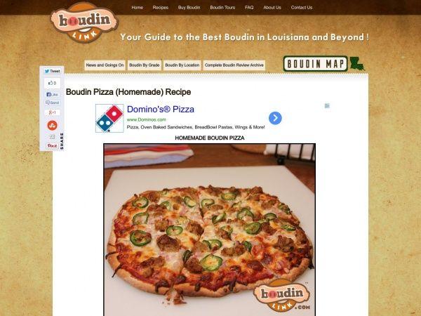 Boudin-Link - South Louisiana Boudin Reviews