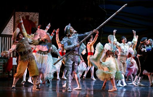 "MADRID 09/29/2015.- An instant of the play ""Don Quixote"", the show that the National Ballet of Cuba, directed by Alicia Alonso, will play from the 30th of ..."