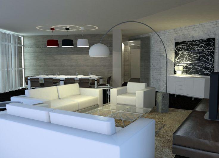 M s de 20 ideas incre bles sobre centros de mesa para el - Iluminacion salon moderno ...