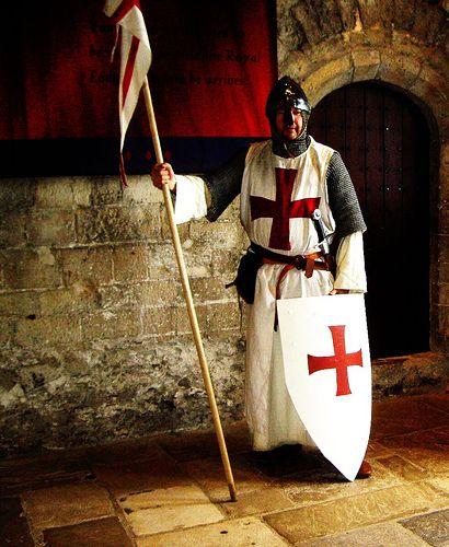 Knight Templar, Dover Castle by BLACK KNIGHT HISTORICAL, via Flickr