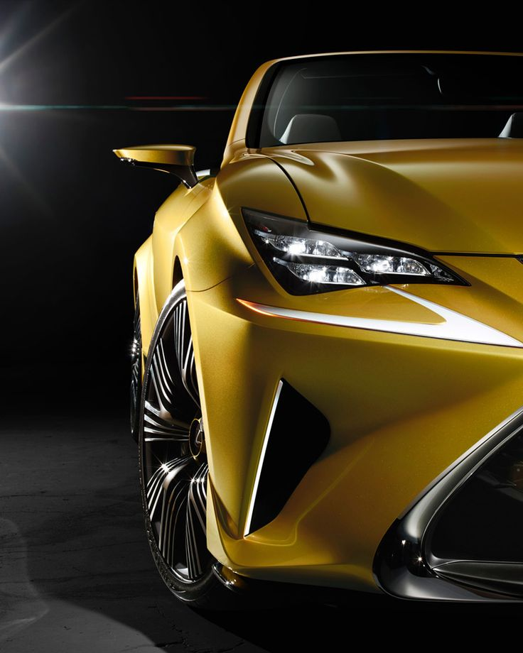 As A Roadster Concept The Lexus Lf C2 Does Not Have Any Kind Of