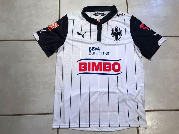 NWOT PUMA Rayados De Monterrey Alternate Soccer Jersey Men's Large  | eBay