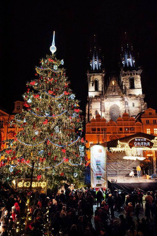 The Famous Prague Christmas Market 2013