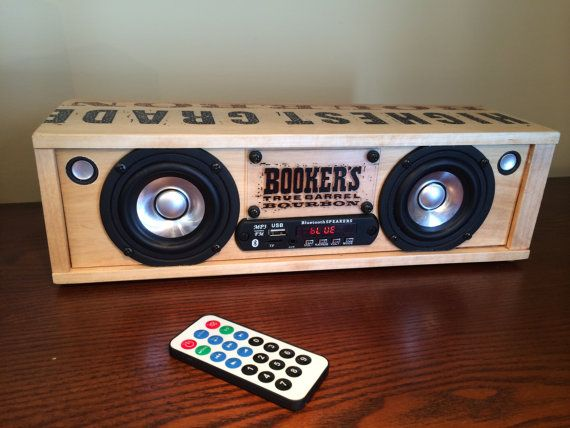 Bookers box Bluetooth Speaker by SoundResolution on Etsy
