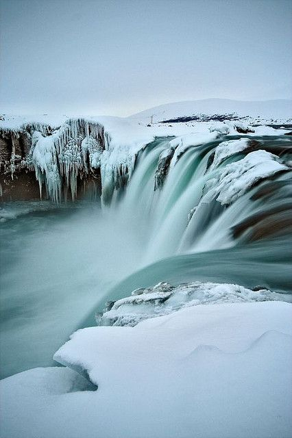 Goðafoss, Iceland.I want to go see this place one day.Please check out my website thanks. www.photopix.co.nz