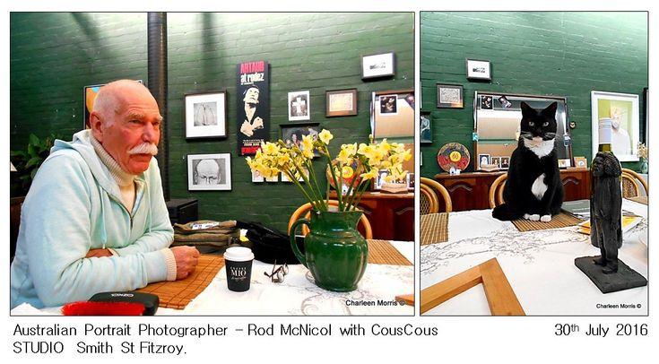 STUDIO TIME with Australian Portrait Photographer Rod Mc Nicol