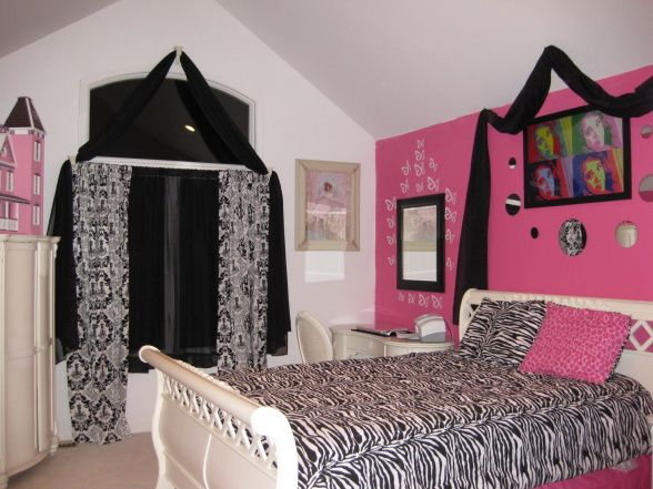 17 Best Images About Black And Pink Room On Pinterest