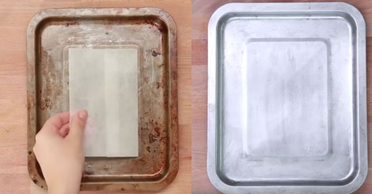 how to clean baking pans