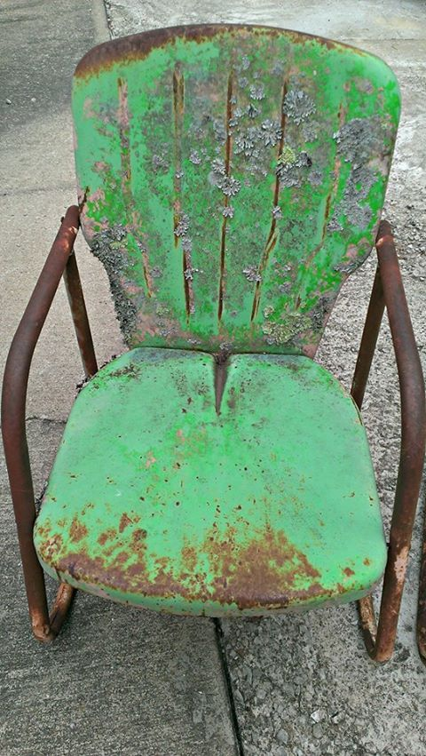 Awesome vintage chair - sold.