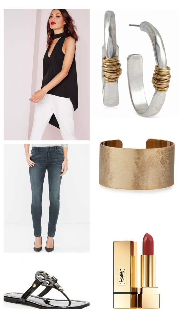 Hostess Outfit - Casual Gift Exchange with Friends http://champagnecasual.com/casual-hostess-outfit-informal-gift-exchange-with-friends/