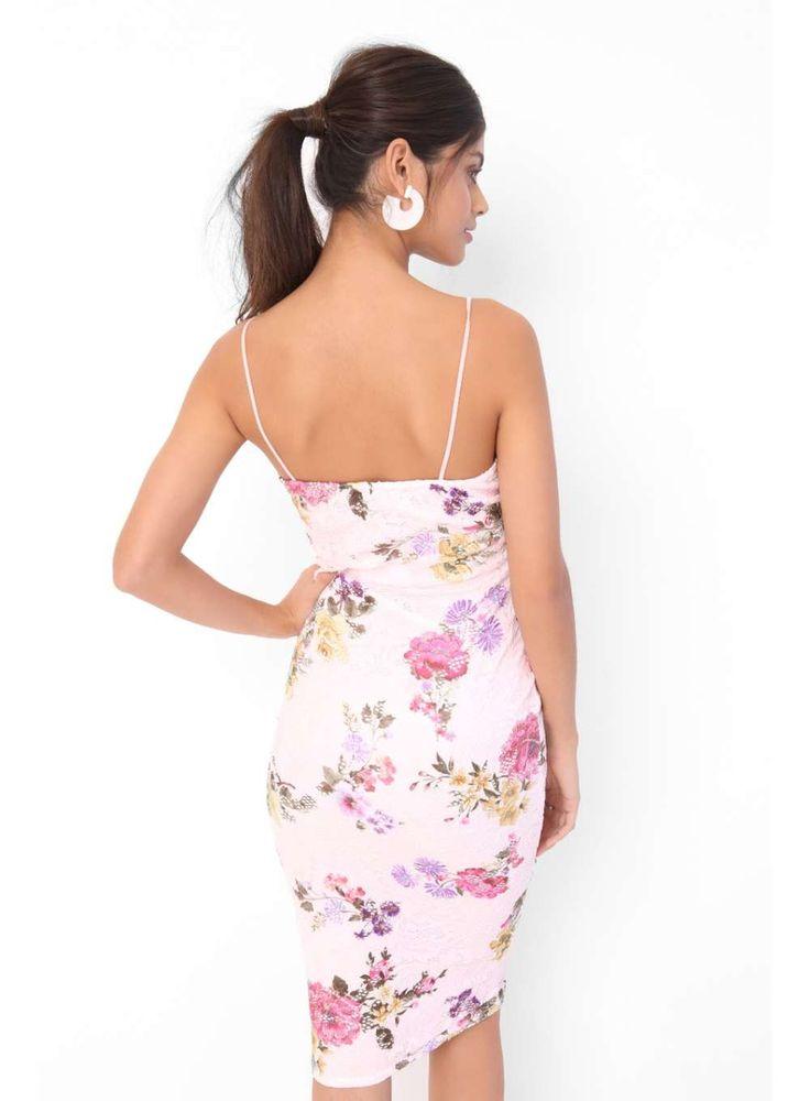 Womens *Girls on Film Multi Print Bodycon Dress- Multi Colour
